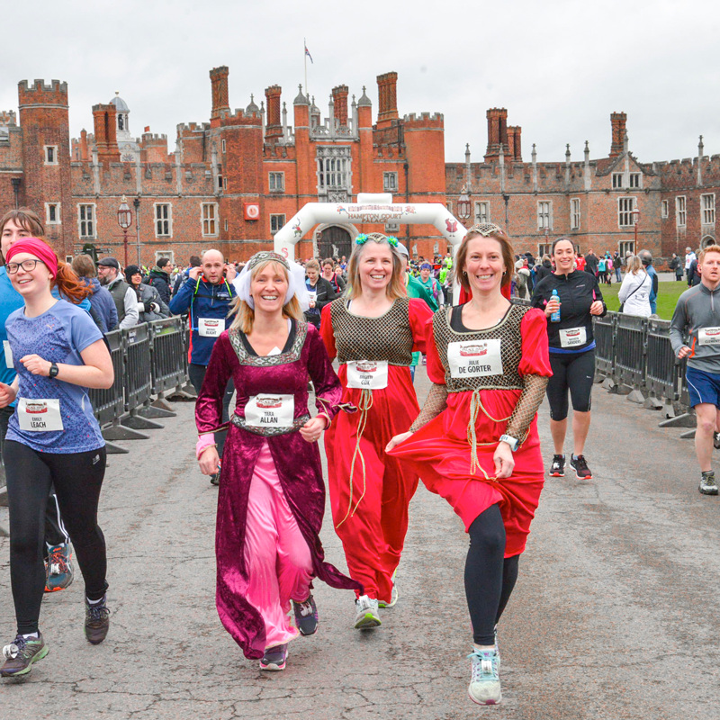 hampton court palace start line